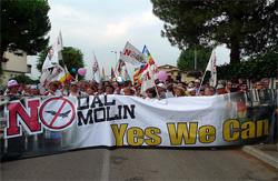 Manifestazione a Vicenza