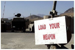 afghanistan load your weapon