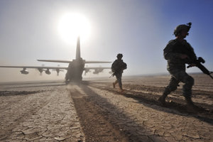 afghanistan sbarco