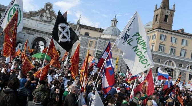 Lega Nord: tra xenofobia, odio e neofascismi