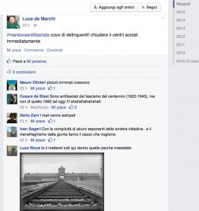 L'invito dell'ex consigliere leghista De Marchi a chiudere i centri sociali, viene accolto proponendo i lager