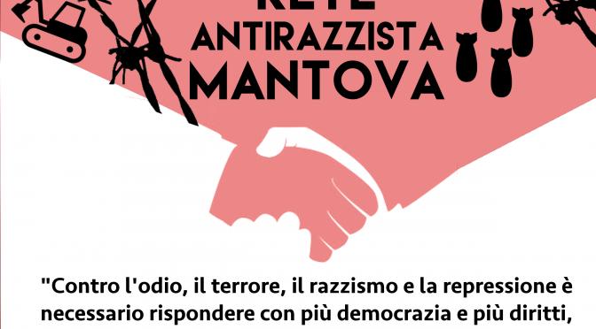 Manifesto Rete Antirazzista Mantova